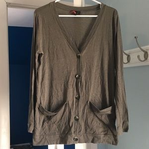 3/$10 Forever 21 Green Cardigan